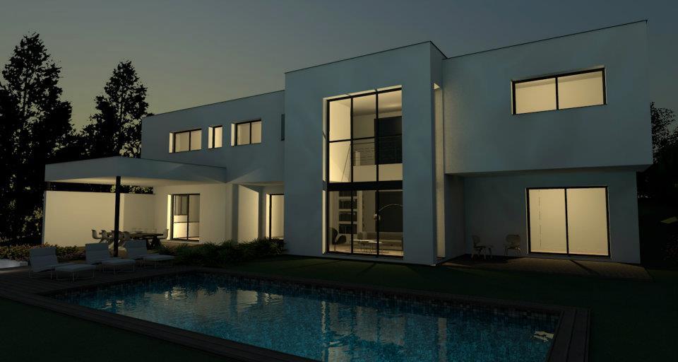 Plan belle maison moderne maison moderne for Belle maison moderne architecte